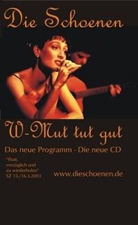 ältere Programme_Die Schoenen-Wehmut tut gut-Plakat