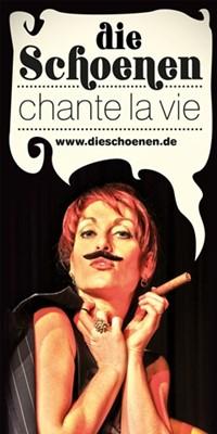 ältere Programme_Die Schoenen_Chante la vie!-Plakat