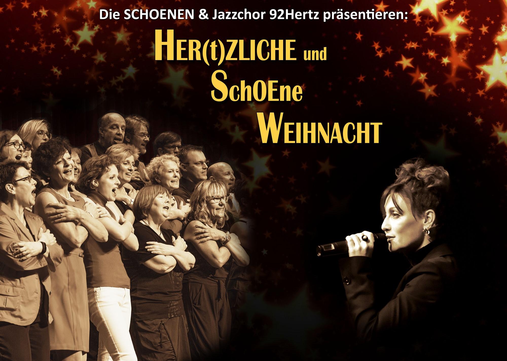 Die Schoenen + Jazzchor 92Hertz