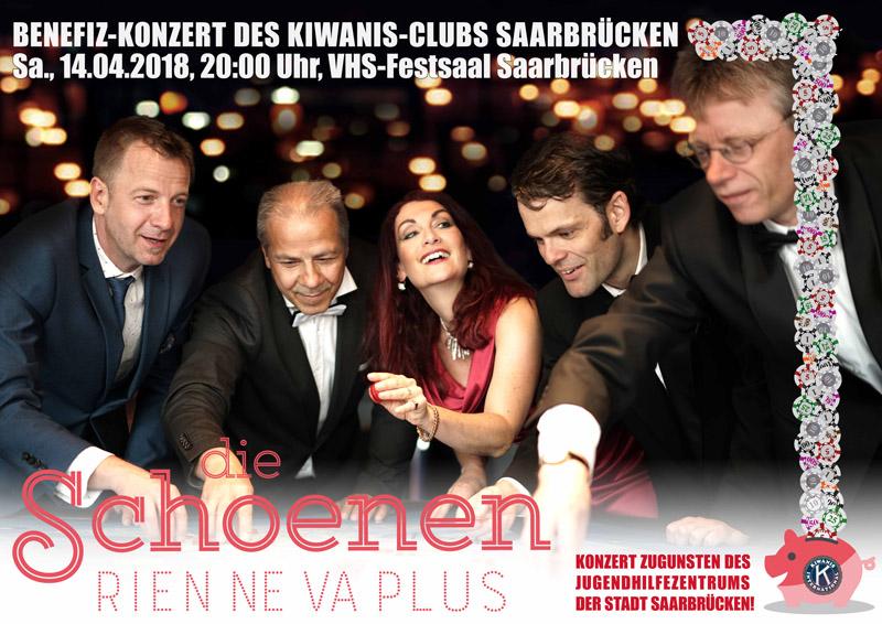 Benefiz-Konzert des KIWANIS-Clubs, Plakat